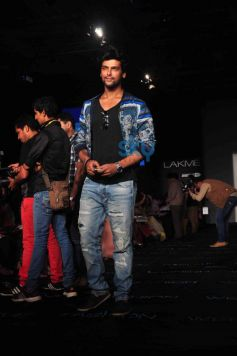 Kushal Tandon during LFW 2014