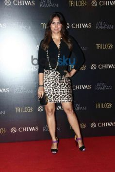 Lara Dutta at Chivas bash