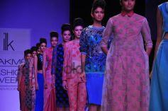 LFW 2014 Shika and Vinita show
