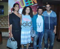 Lisa,Kangna at Queen special screening at pvr juhu