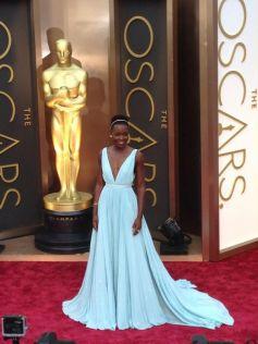 Lupita Nyong'o stuns at Oscars 2014