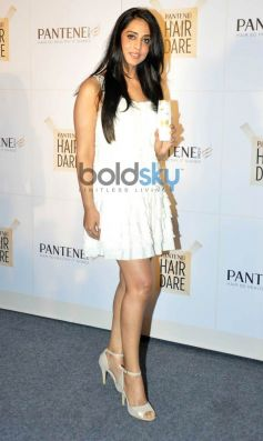 Mahi Gill during launch of new Pantene