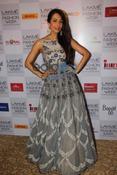 Malaika Parekh Khan during LFW 2014