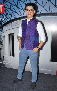 Miyang Chang at Bollywood Themed Travel App Launch