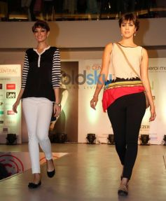 Model ramp walk during Summer Collection unveil Of Central