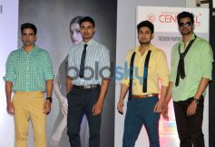 Models ramp walk during Summer Collection unveil Of Central