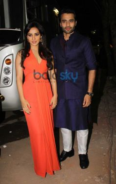Neha sharma and Jackky Bhagnani during Youngistan promotion