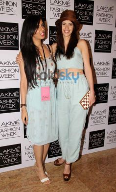 Nishika Lulla with Kalki at LFW 2014