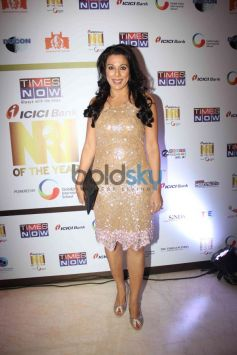 Pooja Bedi at NRI of the year Awards Ceremony