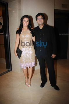 Prason Joshi and Pooja Bedi at NRI of the year Awards Ceremony