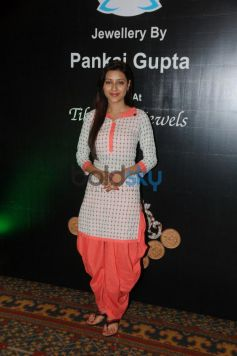 Pratyusha Banejee at the Contemporary Indian Jewellery Showcase