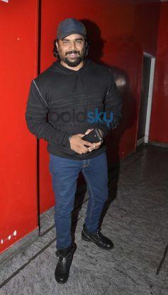 R Madhwan at Queen special screening at pvr juhu