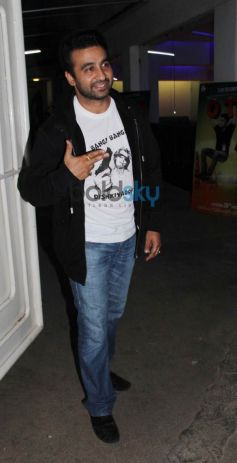 Raj Kundra at special screening of Dishkiyaoon