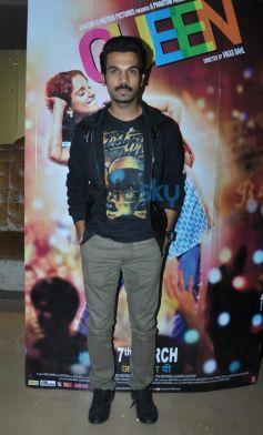 Rajkumar Rao at Queen special screening at pvr juhu