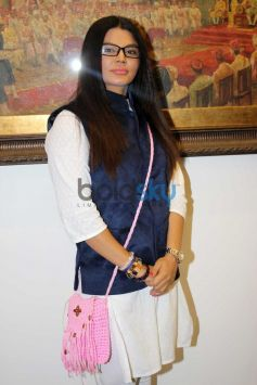 Rakhi Sawant at JS art gallery's new studio launch