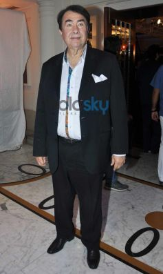 Randhir Kapoor during Times Now Foodie Awards