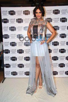 Richa Chadda during LFW 2014 Sounia Gohil show
