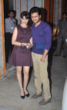 Ritesh and Genelia Deshmukh at Kangna Ranaut Birthday Bash