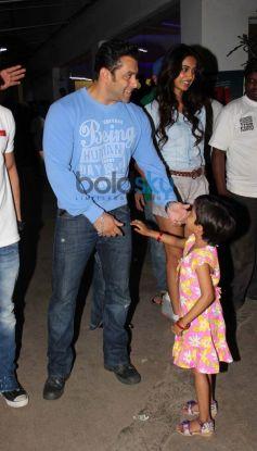 Salman Khan at screening of  O Teri Film
