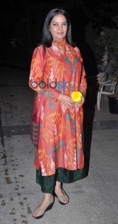 Shabana Azmi at Kangna Ranaut Birthday Bash