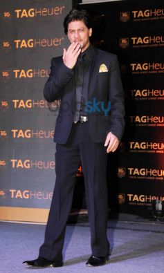 Shah Rukh Khan during new Tag Heuer's watches unveil
