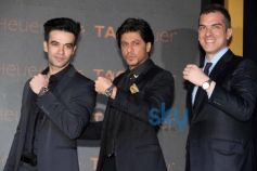 Shah Rukh Khan unveils new Tag Heuer's watches