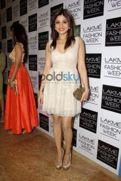 Shamita Shetty during LFW 2014