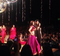 Shilpa Shetty ramp walk at Wills India Fashion Show 2014