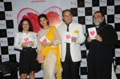 Shonali Sabherwal, Fernandez, Dalip Tahil and Prahlad Kakkar at Launch of Book The Love Diet