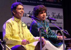Singers at launch Kuch Dil Ne Kaha ghazal album