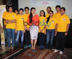 Soha Ali Khan at Classmate Spell Bee 2014 competition