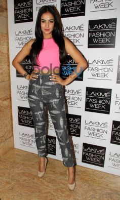 Sonal Chauhan at LFW 2014