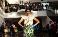 Sonam Kapoor stuns during  Bewakoofiyaan promotion