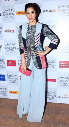 Sophie Chaudhary at Lakme Fashion Week Summer Resort 2014