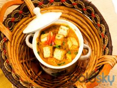 Spicy Achari Paneer