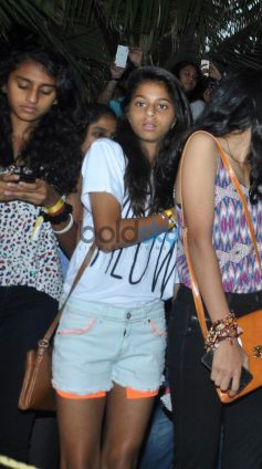 SRK daughter Suhana Khan at Youtube FanFest 2014
