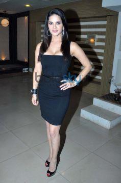 Sunny Leone during Ragini MMS 2 promotion