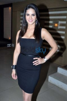 Sunny Leone at Ragini MMS 2 promotion