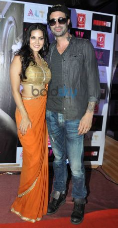 Sunny Leone at Ragini MMS 2 success celebration