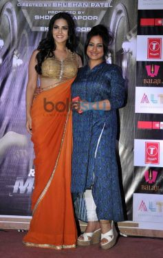 Sunny Leone with Divya Datta at Ragini MMS 2 success celebration