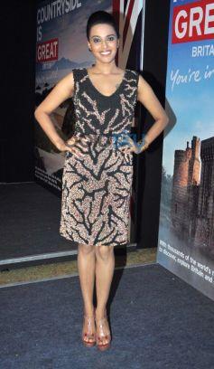 Swara Bhaskar at Bollywood Themed Travel App Launch