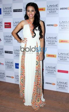 Swara Bhaskar at Lakme Fashion Week Summer Resort 2014