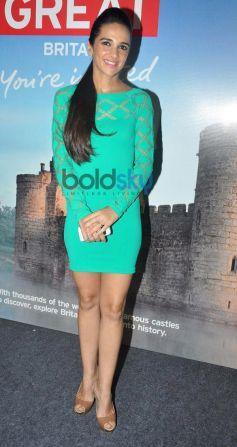 Tara Sharma at Bollywood Themed Travel App Launch