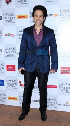 Tusshar Kapoor at Lakme Fashion Week Summer Resort 2014