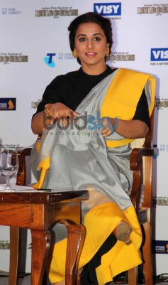 Vidya Balan at Indian Film Festival press conference
