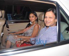 Vivek Oberoi with wife Priyanka at Kangna Ranaut Birthday Bash