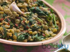 World Earth Day Special Palak Poriyal Recipe