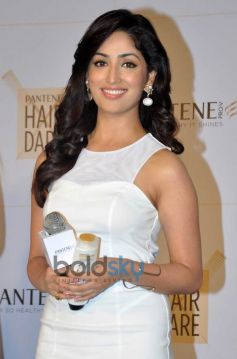 Yami Gautam during launch of new Pantene