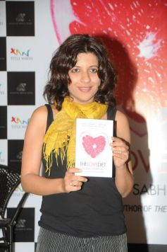 Zoya Akhtar during the launch of Book The Love Diet