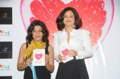Zoya Akhtar with Author Shonali Sabherwal at Launch of Book The Love Diet